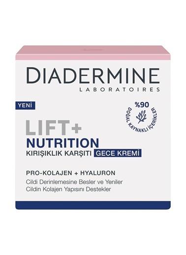 Diadermine  Lift+ Nutri-Lifting Gece Kremi 50ml Renksiz